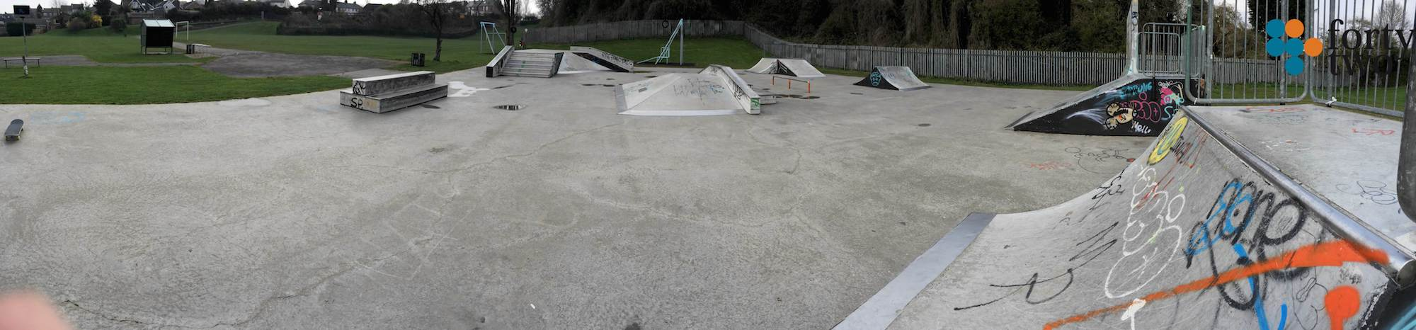Standhill Skatepark Nottingham Panarama 2