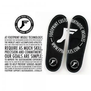 Footprint Game Changer Skateboarding Insoles UK
