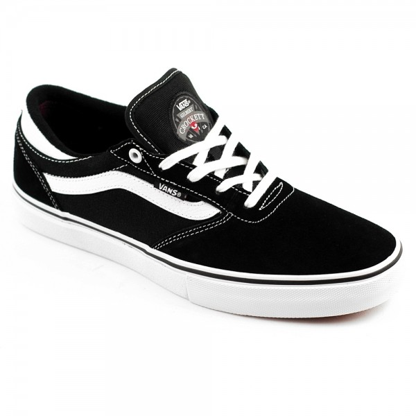The amazing Vans Gilbert Crockett pro in Black/White suede featuring Vans Duracap. £60 including fast UK delivery.