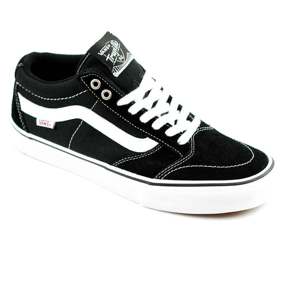 Vans TNT SG Mid Black/White with OG Waffle Sole. Free UK delivery.