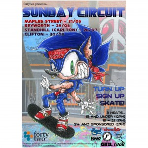 sonic sunday circuit square2