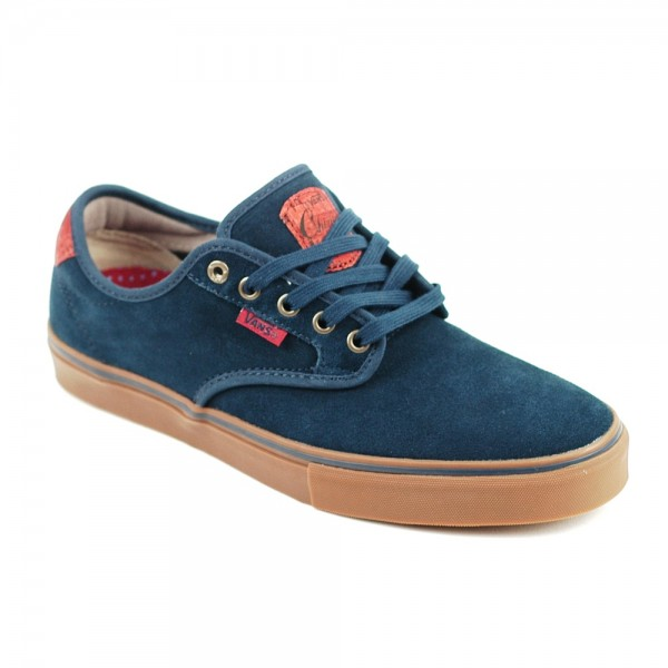 Vans Chima Ferguson pro Skate Shoe Navy Gum UK
