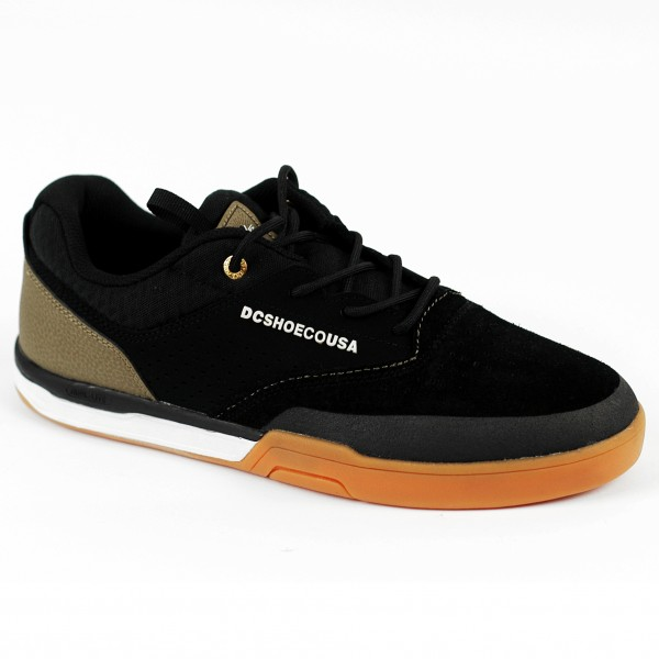 The new DC Cole Lite 3 S skate shoe in Black and Gum UK