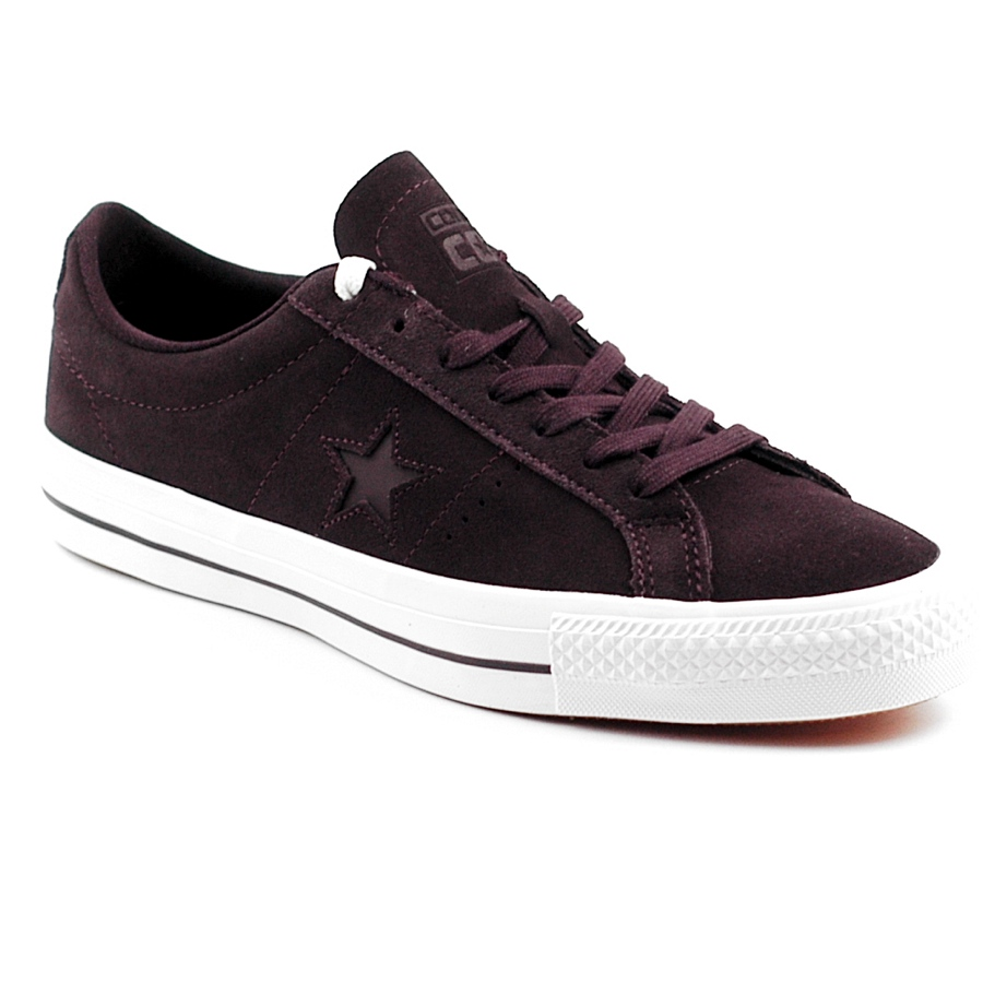 Converse One Star Ox Black Cherry - Forty Two Skateboard Shop 3a6fdf224