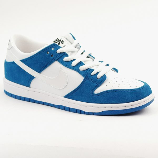 Nike SB Dunk Ishod Wair Spark Blue and White. UK.