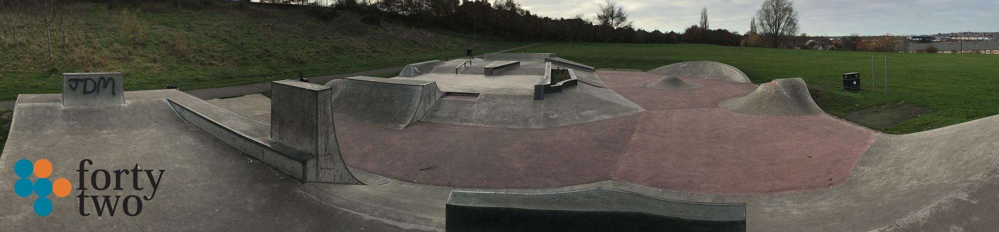 Mansfield Plaza Skateboard Park Image Two