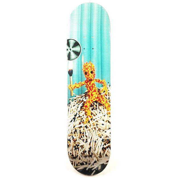 Alien Workshop Icon Match Man Deck 8.25