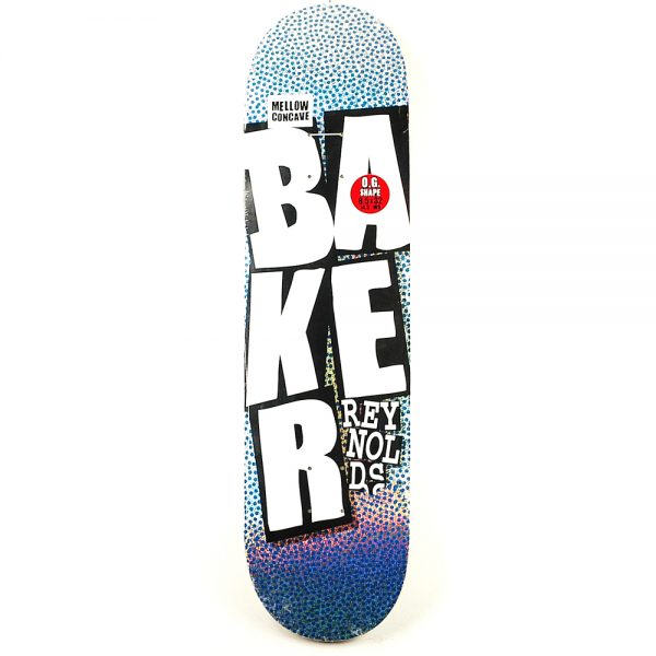 Baker Reynolds Stacked Logo Deck Hollographic Mellow 8.5