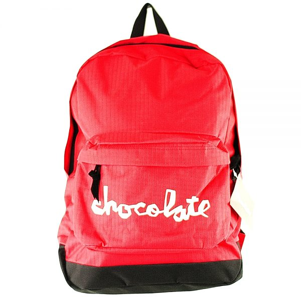Chocolate Chunk Backpack Red