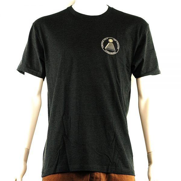 Theories Of Atlantis Chaos Tee Charcoal Front