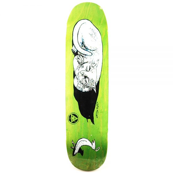 Welcome Miller Guilty Cat On Catblood Green Deck 8.5