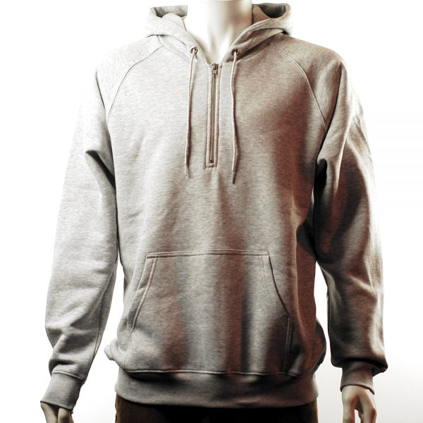 polar-half-zip-hood-heather-sports-grey