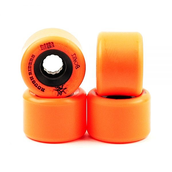 Bones ATF Rough Rider Wheels Orange 56mm
