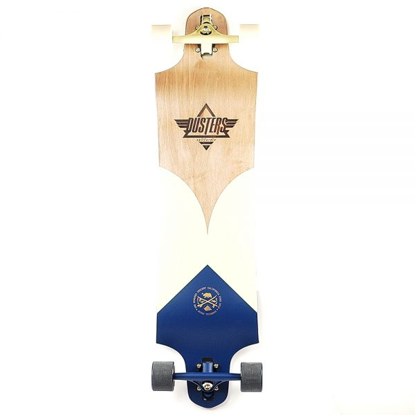 Dusters Marine Longboard 38Inch Complete Navy