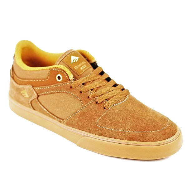 Emerica Hsu Low Vulc Brown-Gum Main