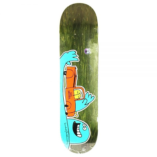 Krooked Pro Drehobl Shortkut Deck Green 8.12