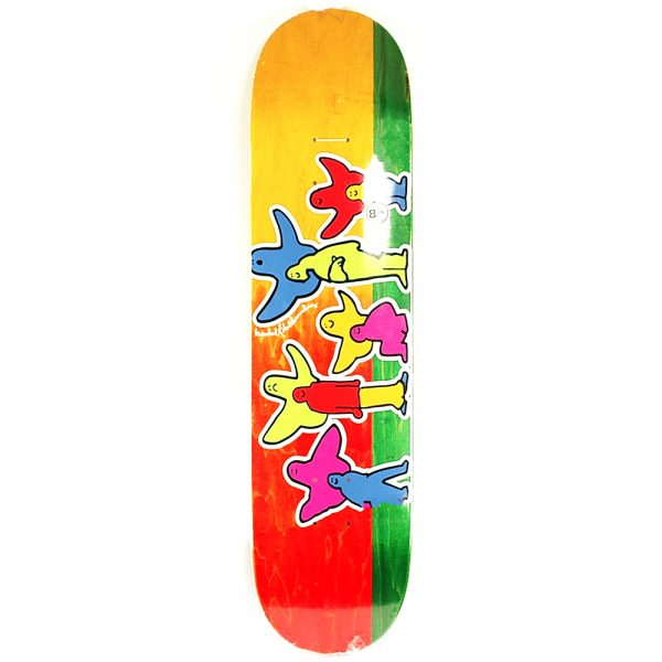 Krooked Pro Pet Klub Full Shape Deck 8.06