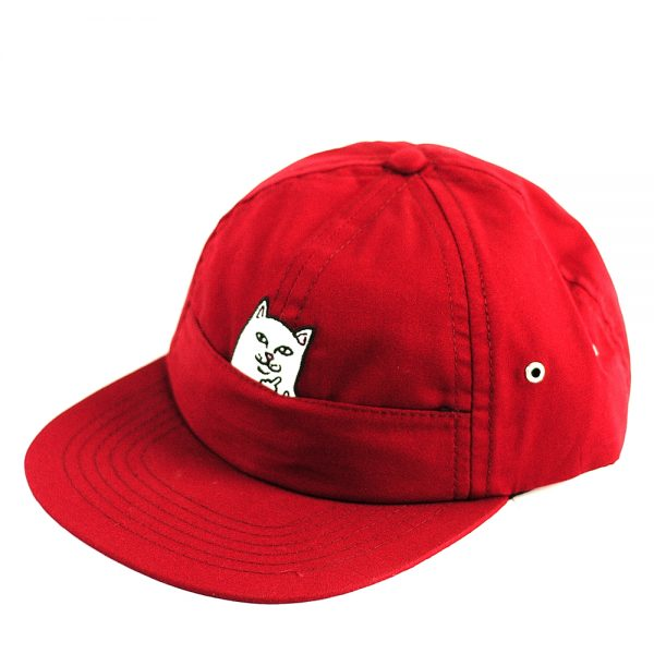 Rip N Dip Nermal Pocket 6Panel Cap Maroon