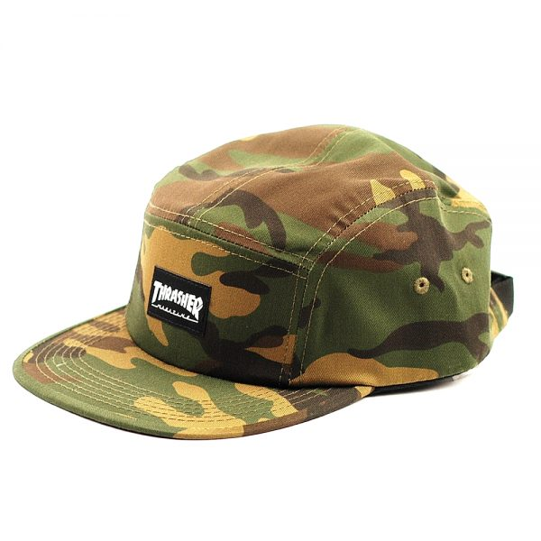 Thrasher 5Panel Cap Camo