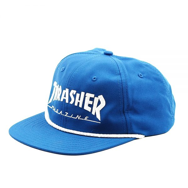 Thrasher Cap Rope Snapback Blue-White