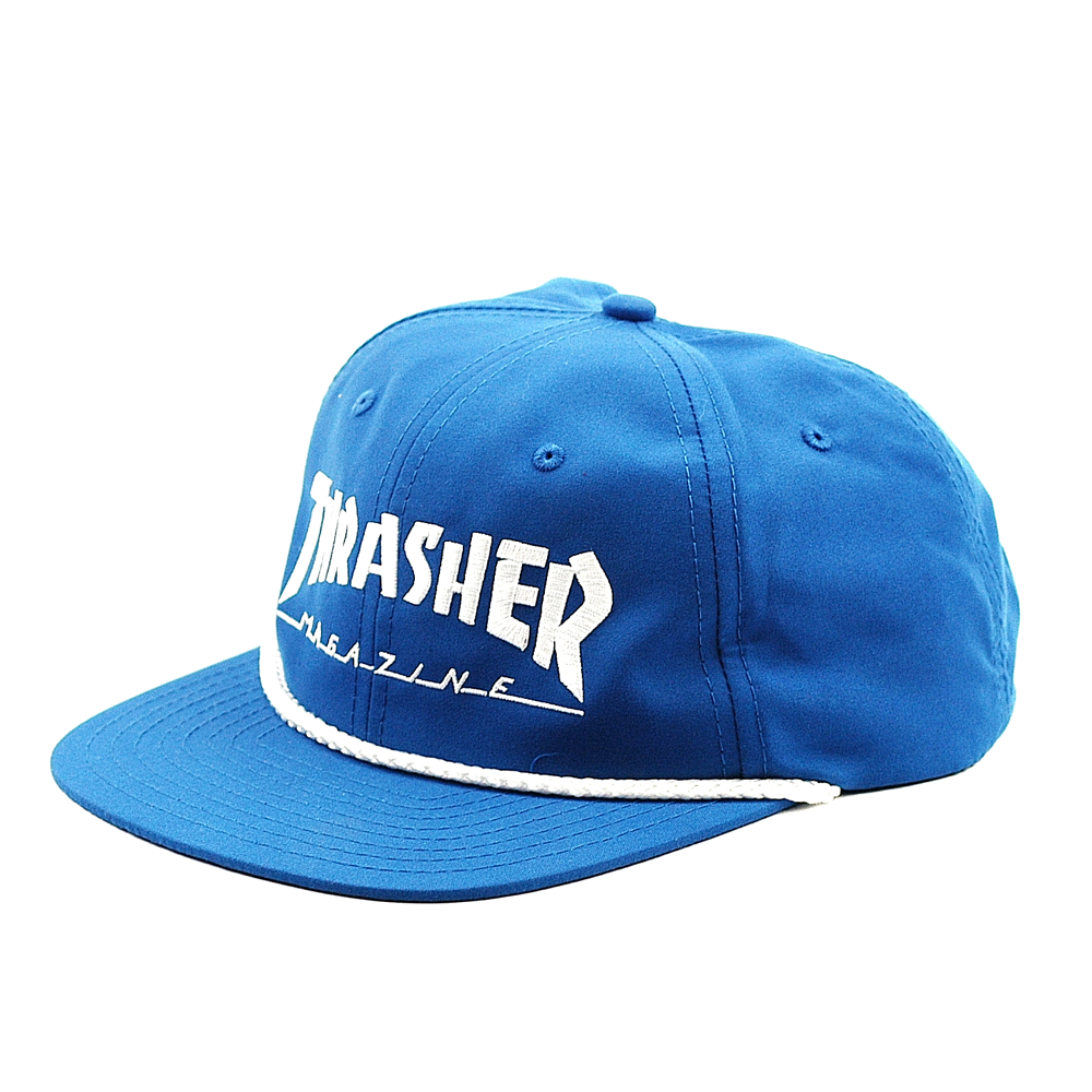 Thrasher Cap Rope Snapback Blue-White - Forty Two ...