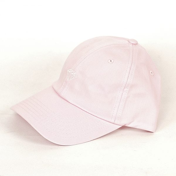 Diamond Micro Brilliant Sports Trucker Cap Pink Main