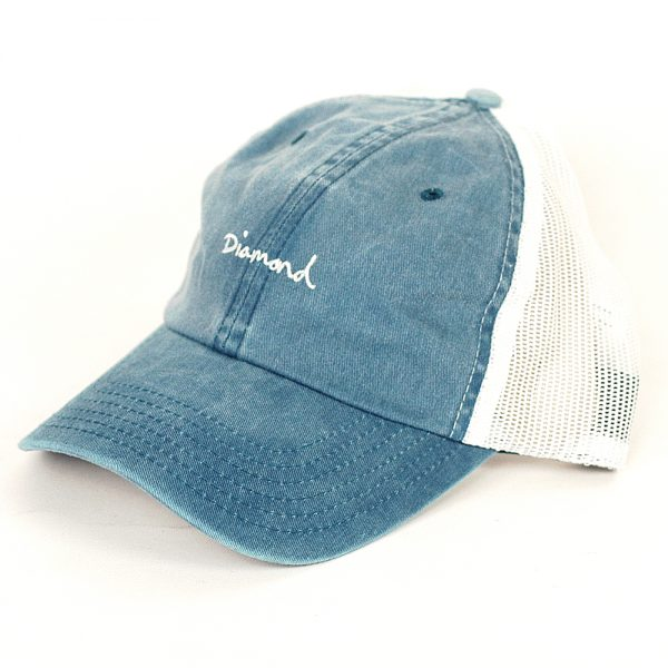 Diamond Mini OG Script Sports Cap Navy