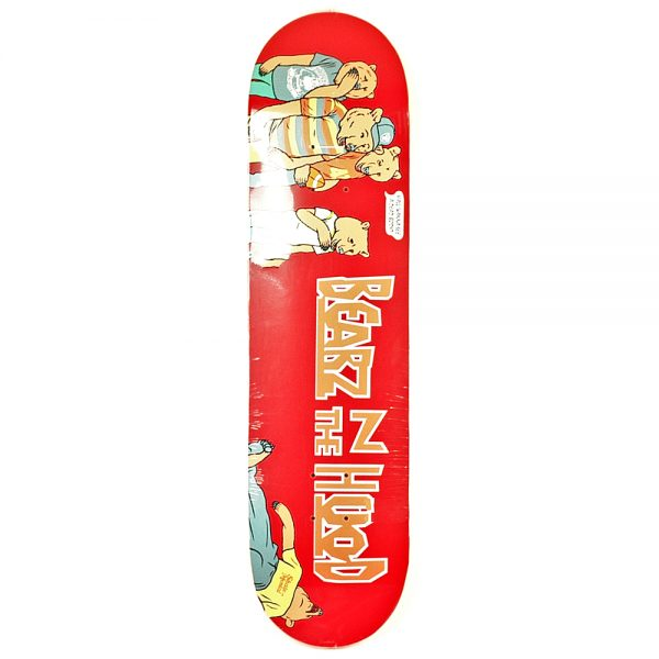 Grizzly x Skate Mental Bearz In The Hood Deck 8.125