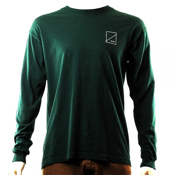 Numbers Wordmark Longsleeve Tee Pine Main