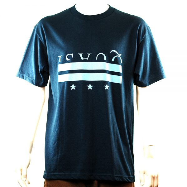 Quasi District Tee Blue Main