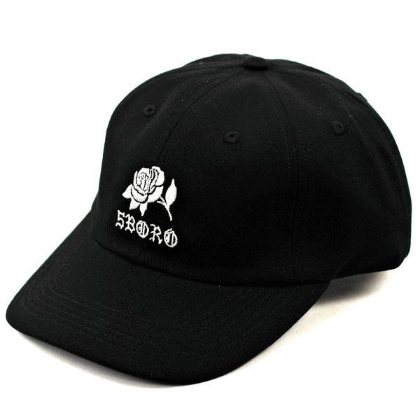 5boro Rose Cap Black