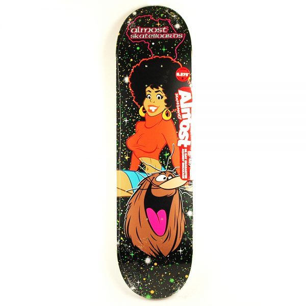 Almost Caveman Blacklight Deck 8.375
