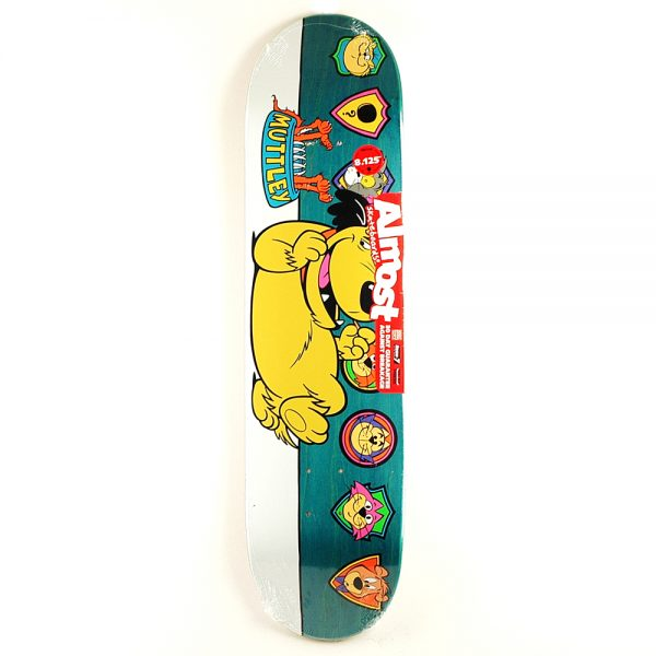 Almost Mutley Plaques Deck Fade 8.125