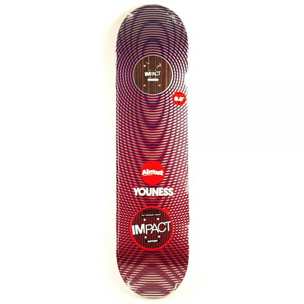 Almost Youness Metallic Deck 8.0