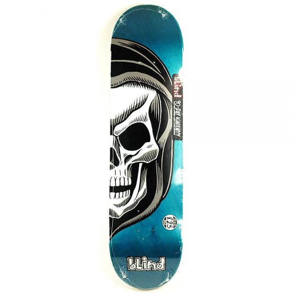 Blind Reaper Split Deck Teal 8.25