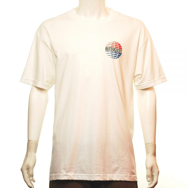 Butter Good Multi National Tee White Front