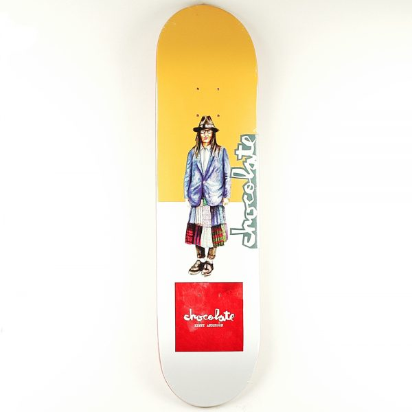 Chocolate Everyday People Anderson Deck 8.125