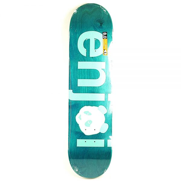 Enjoi No Brainer Deck Light Blue 8.0