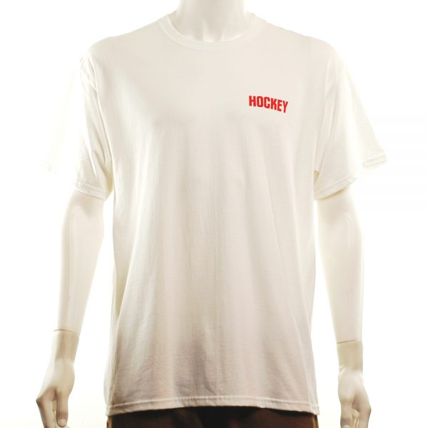 Hockey Stay Inside Tee White Front