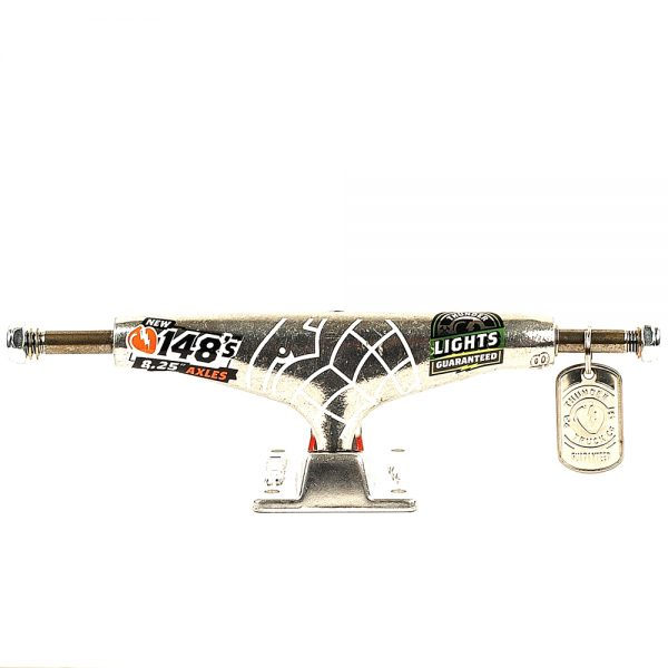 Thunder Hi 148 Hollow Lights Trucks Polish Pair Front