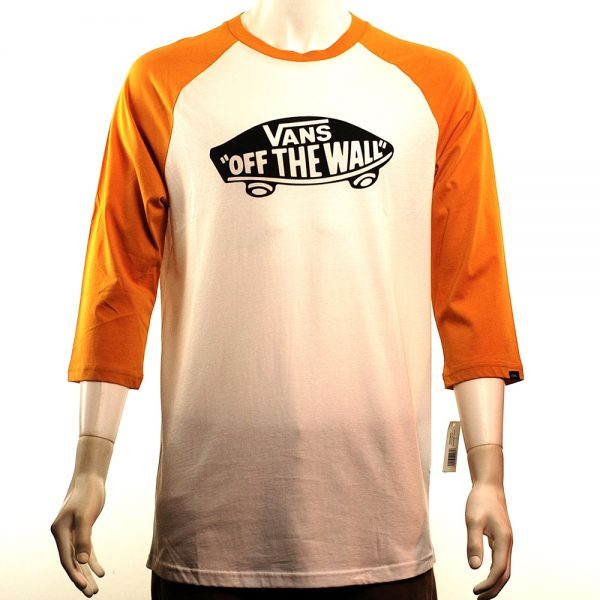 Vans Off The Wall Raglan White:Yellow