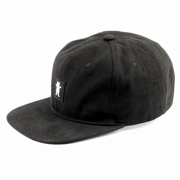 grizzly-field-and-stream-strapback-cap-black