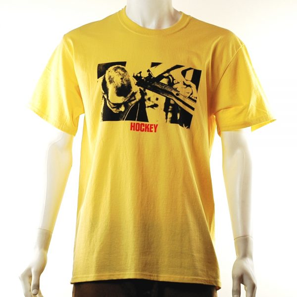 hockey-hard-head-tee-yellow