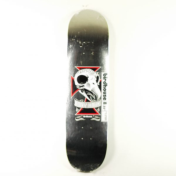 Birdhouse Tony Hawk Skull Deck Chrome Foil 8.25