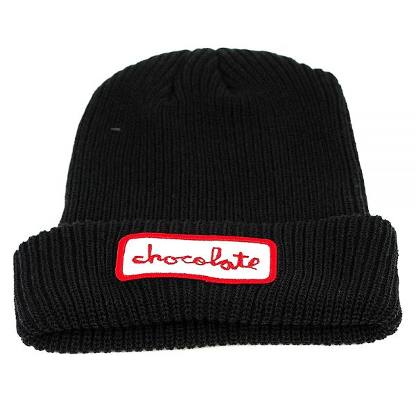 Chocolate Gas Station Patch Beanie Blue