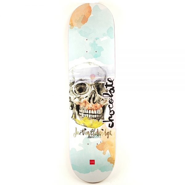 Chocolate Justin Eldridge Skull Deck 8.25