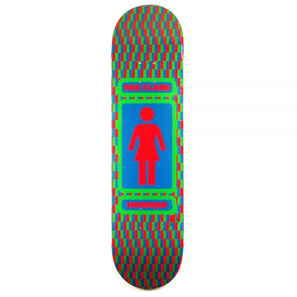 Girl Rick Howard The Flare Deck 8.25