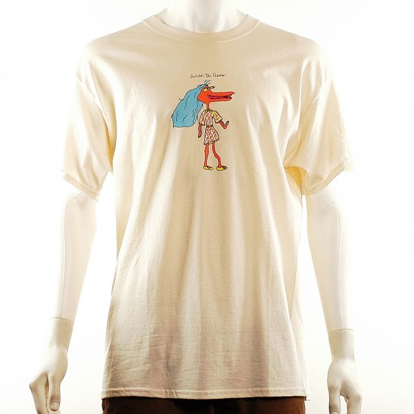 Illegal Civilization Delilah The Dino Tee Sand