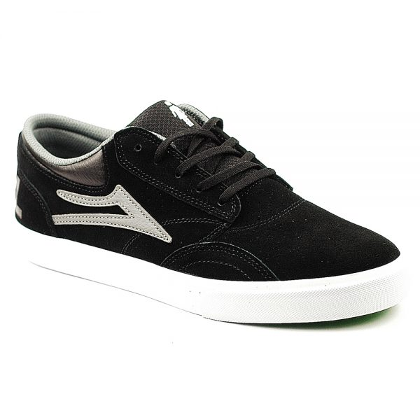 Lakai Griffin Black-Grey Suede Single