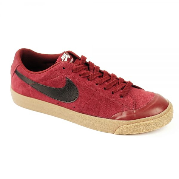 Nike SB Blazer low XT Dark Red-Black-Gum